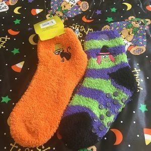 Other - 🎃 Fuzzy Halloween Socks 👻